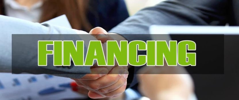 Financing Now Available